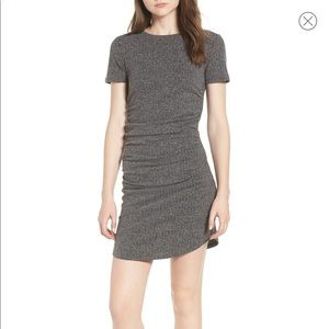 NWT BP ruched body-con dress